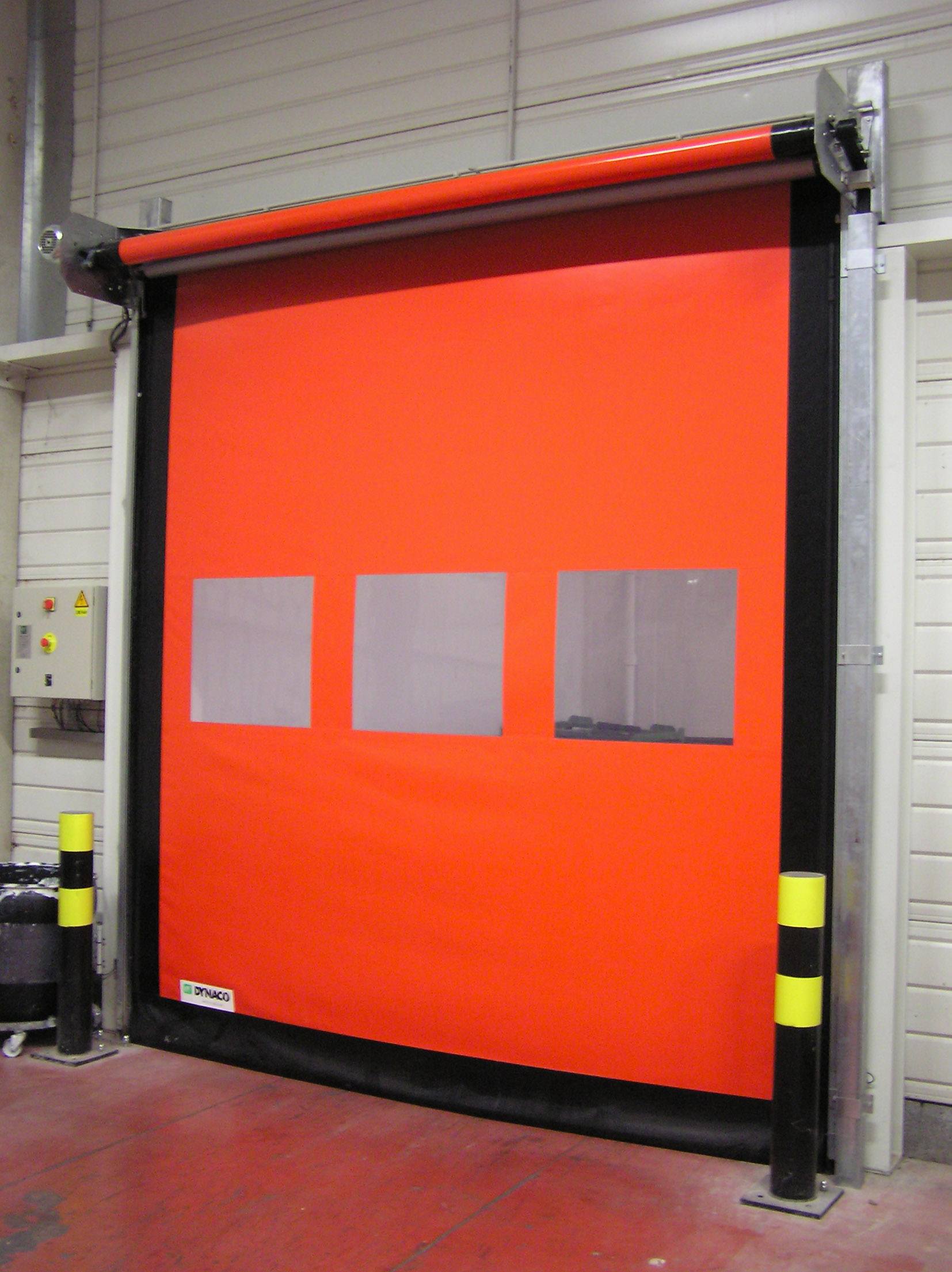 Dynaco high speed doors now available from easilift
