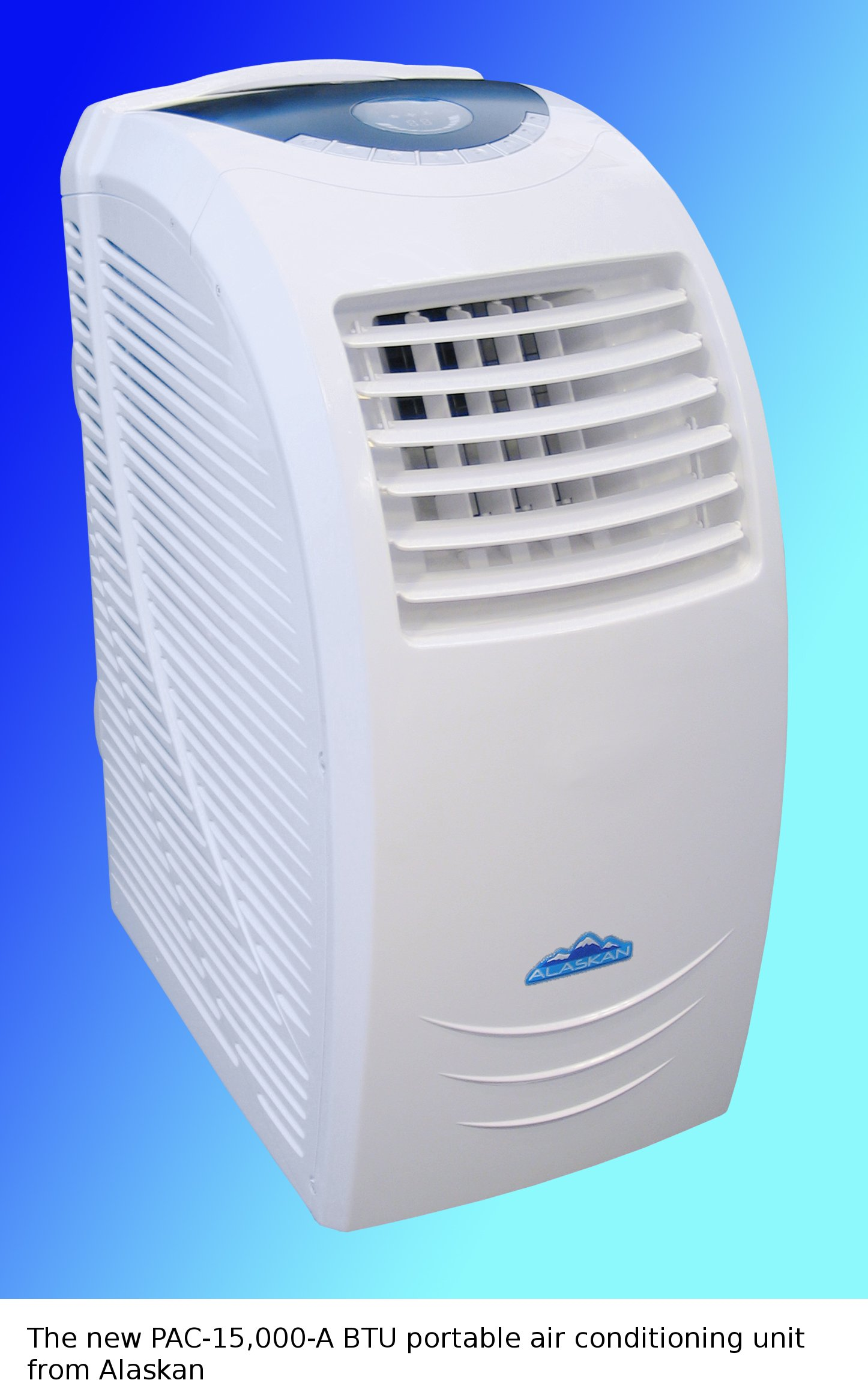 Alaskan launches its powerful 15 000 BTU portable air conditioning  #091BC2
